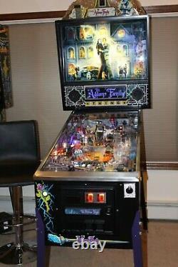 Adams family PINBALL machine flipper dual arcade game cowboy rare