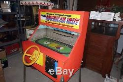 American Indy Arcade Machine from 1967