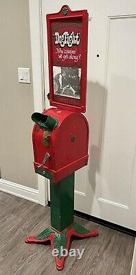 Antique Vintage 1920s Coin Operated Mutoscope Arcade Machine