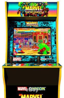 Arcade1UP Marvel Capcoms Superheroes Arcade Machine 4ft Cabinet, Brand New
