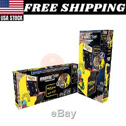 Arcade1UP Pac-Man Arcade Machine 2 Games in 1 withRiser Coinless operation New