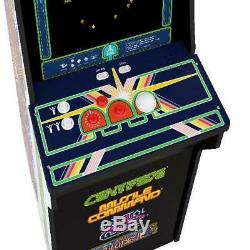 Arcade1Up Centipede Retro Machine 4ft Tall With LCD Display Classic Game Cabinet