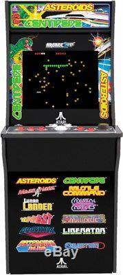 Arcade1Up Deluxe Edition 12-in-1 Arcade Cabinet Machine Atari Graphics
