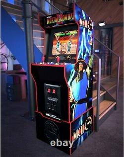 Arcade1Up Mortal Kombat Midway Legacy Edition Arcade Machine with Riser 12 Games