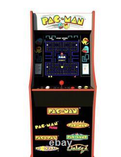 Arcade1Up Pac-Man 40th Anniversary Edition Arcade Machine Brand New Sealed 4