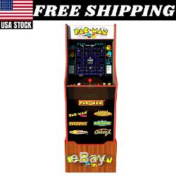 Arcade1Up Pacman 40th Anniversary Edition Gaming Cabinet Machine with Riser NEW