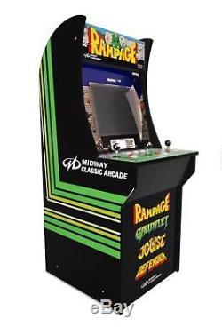 Arcade1Up Rampage Gauntlet Joust Defender Arcade Cabinet Machine LCD DISPLAY 4ft