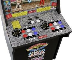 Arcade1Up Retro Street Fighter 2 Arcade Video Game Machine Cabinet 4ft Tall NEW