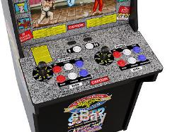 Arcade1Up Street Fighter 2, (3 Games in 1) Arcade Machine 4ft tall, Very Cool