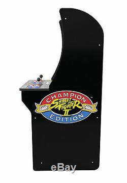 Arcade1Up Street Fighter 2 3 Games in 1 Arcade Machine 4ft tall indoor Outdoor