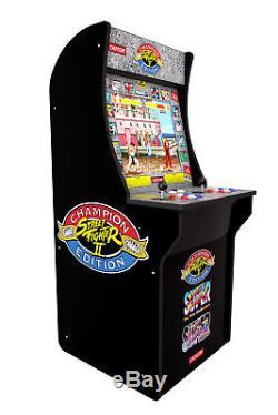 Arcade1Up Street Fighter 2 Machine, 4ft