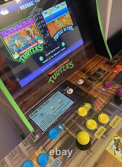 Arcade1Up Teenage Mutant Ninja Turtles Arcade Cabinet Machine, Riser (TMNT)