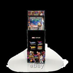 Arcade1Up X-Men VS Street Fighter Video Arcade Game Machine Console & Riser New