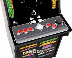 Arcade1Up's 12-in-1 Deluxe Edition Arcade Machine with Riser Atari Graphics NWOB