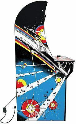 Arcade1up Retro Video Game Machine Asteroids 4ft Plus Riser
