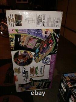 Arcade1up Teenage Mutant Ninja Turtles TMNT Arcade Machine withRiser New Cowabunga