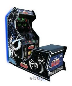 Arcade 1UP STAR WARS Cabinet Bench Seat Retro Arcade Machine Arcade1up 3 GAMES