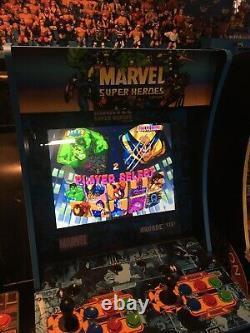 Arcade 1Up Marvel Super Heroes Arcade Machine, The Punisher, X-Men Children Atom
