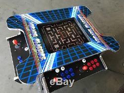 Arcade Cocktail SitDown with 1162 Game in 1 Machine -Black cabinet