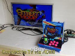 Arcade Machine Bartop 10.4 HD LED Acrylic Retro Game Desktop 1299 in 1