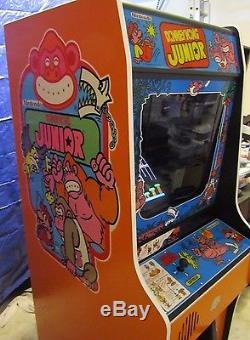 Arcade Machine, -Coin Operated, -Amusement, Nintendo, -, Donkey Kong Jr