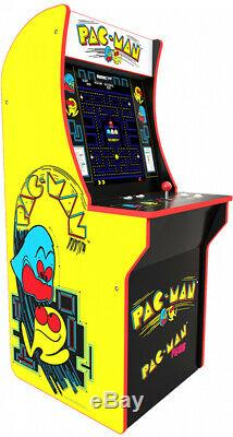 Arcade Machine Pacman Pac Man Cabinet Upright Standing Party Room Retro Vid Game
