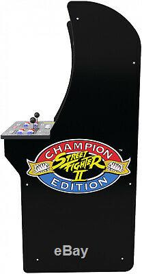 Arcade Machine Street Fighter 2 Cabinet Upright Standing Retro Game Party Room