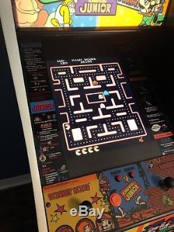 Arcade Machine With Namco Cab 60-1 New LCD Jamma Lights Donkey Kong JR Galaga NR