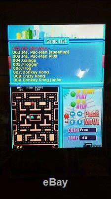 Arcade machine, 412 in 1 Multi-game