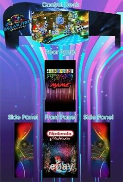 Arcade machine multicade 4 players thousands of games choose design pi4