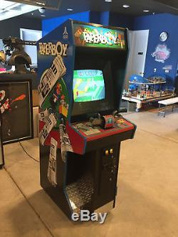 Atari Paperboy Full Size Arcade Machine Restored