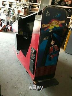 Atari Road Blasters Cockpit Arcade Machine Environmental RoadBlasters