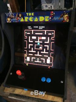 Awesome Multicade Countertop Arcade Machine! Plays 60 Classic Games! Free Ship
