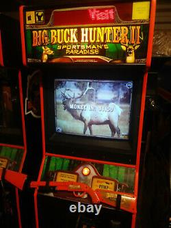 BIG BUCK HUNTER Call of the Wild ARCADE MACHINE by IT (Excellent Condition)