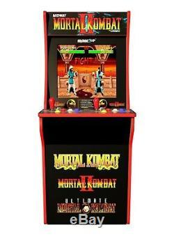 BRAND NEW Arcade1UP Mortal Kombat I II III Arcade Machine 4ft 4 Feet 3-In-1