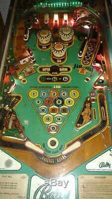Bally 1978 Eight Ball Pinball Machine Arcade Game 8-Ball NEW MPU