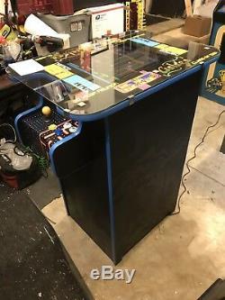 Bar Height Arcade Cocktail Table Machine Ms Pac Galaga
