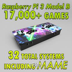 Bartop Multicade Arcade Machine, Raspberry Pi Game Box With
