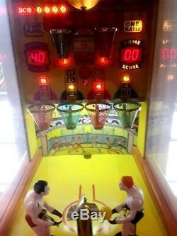 Benchmark Games Reproduction 1954 Genco Two Player Basketball Arcade Machine