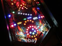 Black Belt Arcade Pinball Machine Bally/Midway1986 (Custom LED)