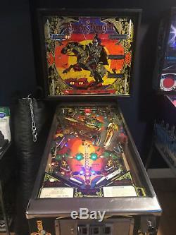 Black Knight Pinball Machine Williams 1980 Coin Op