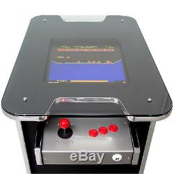 Black / Silver Arcade Machine 400+ Games Free Shipping 2 Yr Waranty