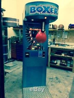 Boxer Punching Bag Arcade Game Coin Operated Machine Used