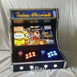 Brand New! Golden Multicade bar top video arcade machine 8000 games