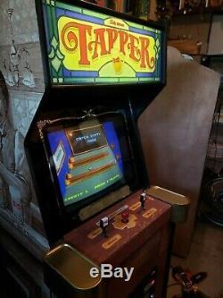Budweiser Tapper Original Arcade Machine (Restored, Nice & Working) withReal PCB