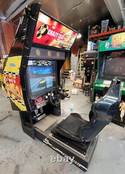 CRAZY TAXI Arcade Driving Racing Video Game Machine! Awesome Classic Driver