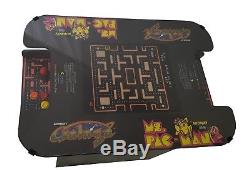 Classic Cocktail Arcade Machine With 60 Games Ms. Pac-Man, Galaga, Donkey Kong