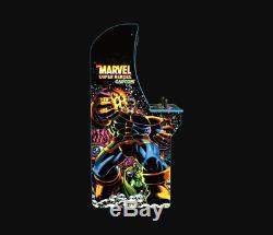Classic Marvel Superheroes Machine & Authentic Arcade Controls Best Game Cabinet