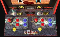 Classic Mortal Kombat Machine With Authentic Arcade Controls Best Game Cabinet