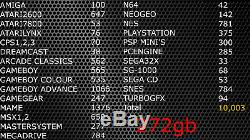 Classic Retro Games Console, Arcade Machine 272GB 10K TITLES, Latest 2020, HDMI